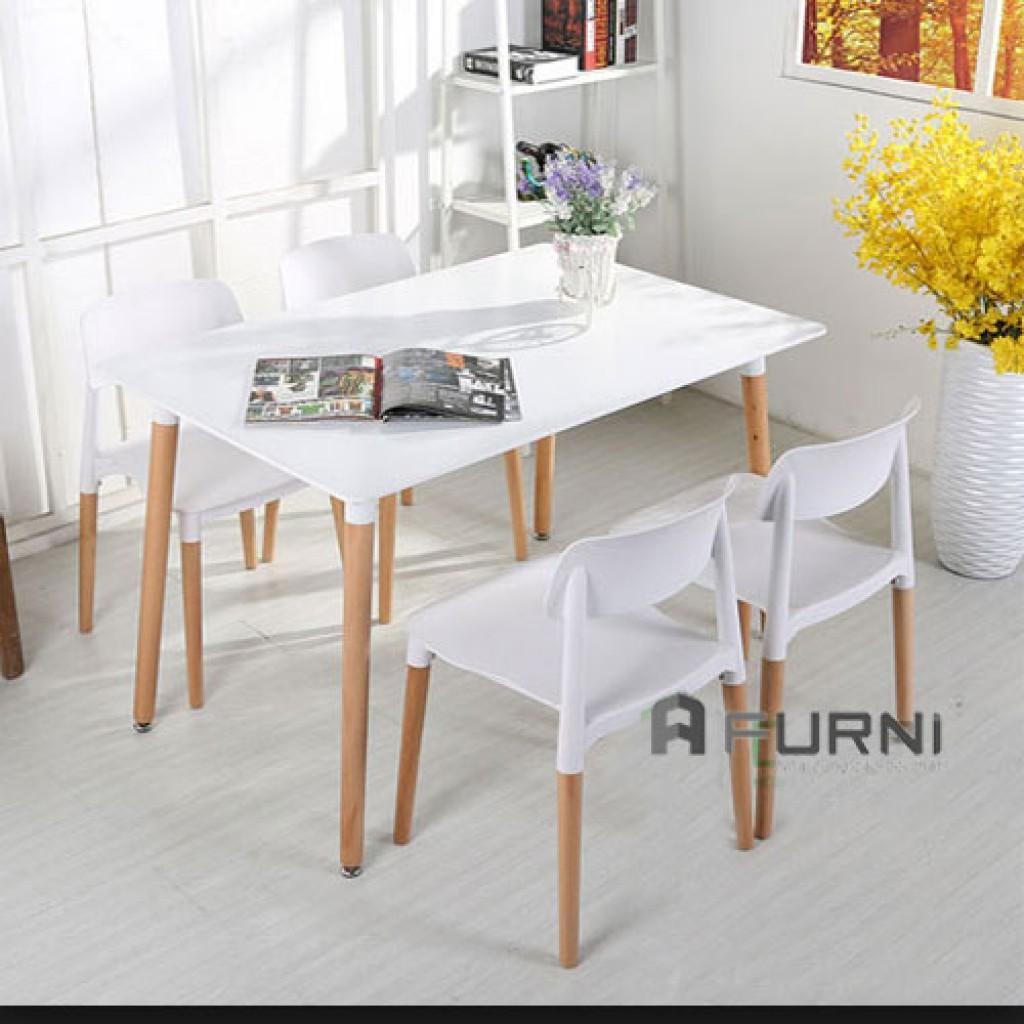Bộ bàn ghế ăn dài cho gia đình