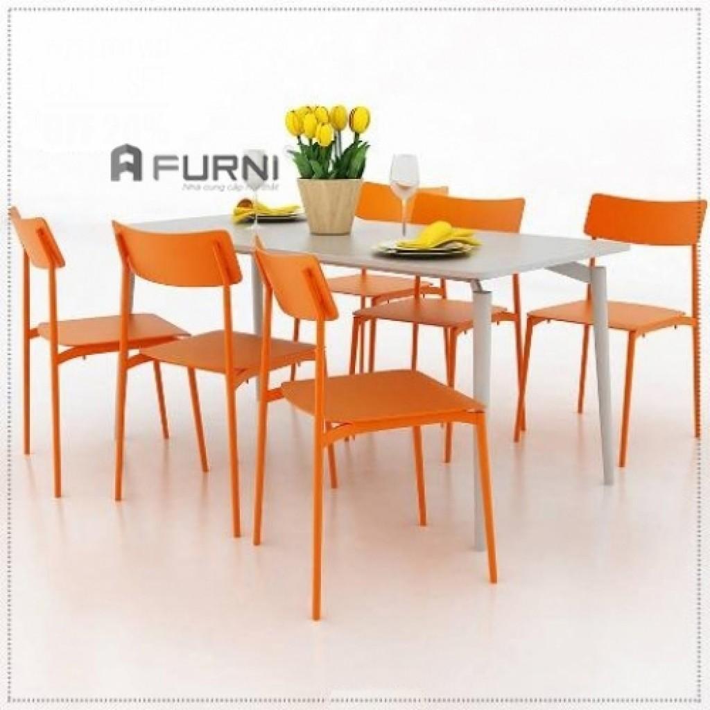 Bộ bàn ghế ăn 6 ghế đẹp