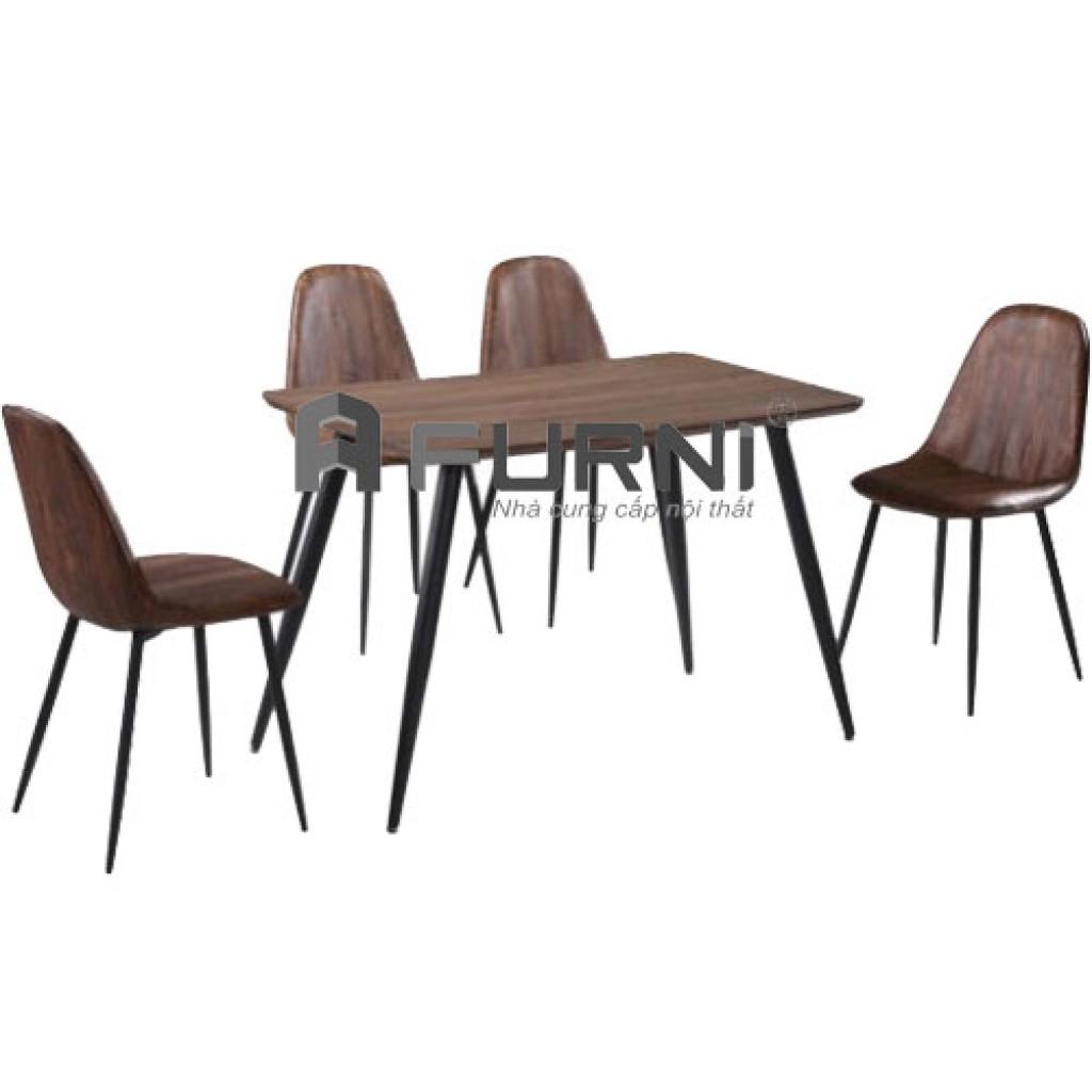 Bàn ghế ăn kiểu dáng hiện đại