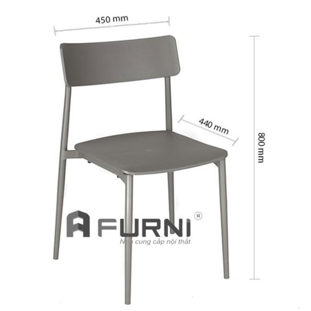 Ghế nhà hàng xếp chồng