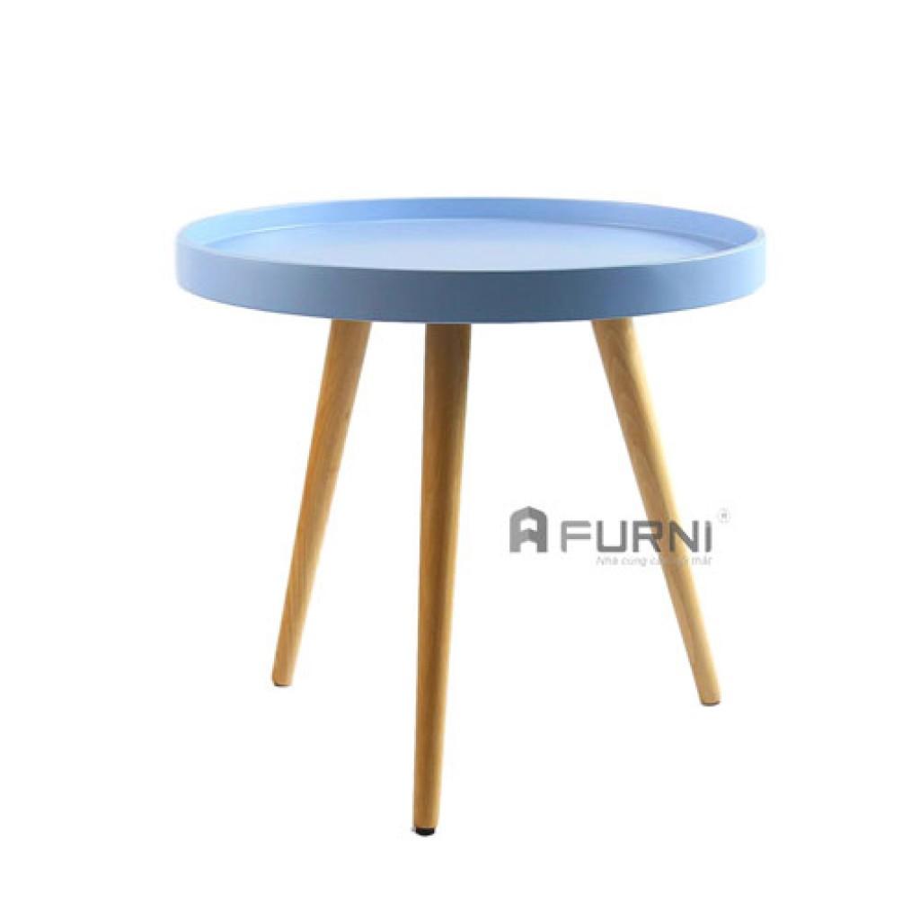 Bàn Sofa góc bàn tròn khay