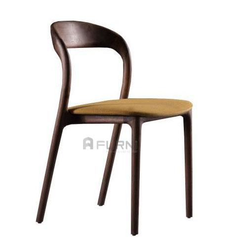 Ghế gỗ bọc nệm vải